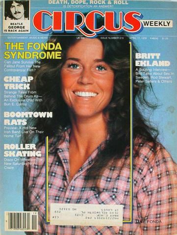 Circus Magazine April 17, 1979