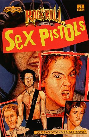 The Sex Pistols Comic Book