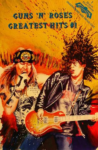 Guns N' Roses Comic Book