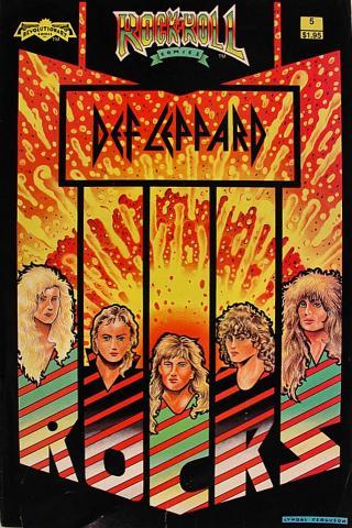 Revolutionary: Rock 'N' Roll Comics #5
