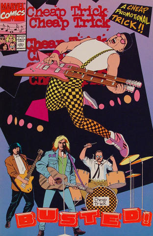 Marvel: Cheap Trick - Busted