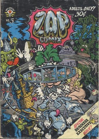 Apex Novelties: Zap Comix #5