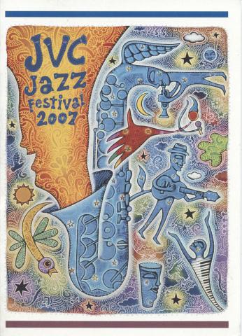 JVC Jazz Festival Handbill