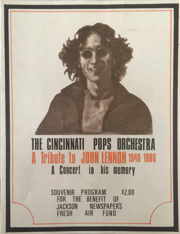 The Cincinnati Pops Orchestra Program