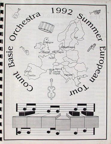 Count Basie Orchestra Program