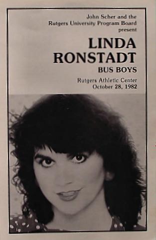 Linda Ronstadt Program