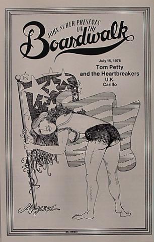 Tom Petty & the Heartbreakers Program