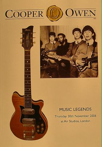 Music Legends: Thursday 30th November 2006
