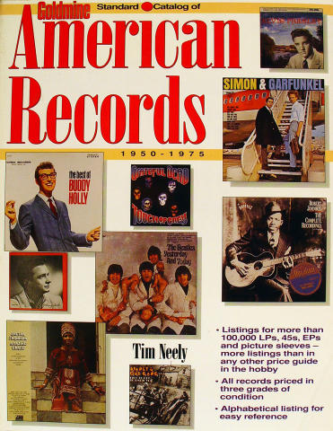 Goldmine Standard Catalog Of American Records: 1950-1975