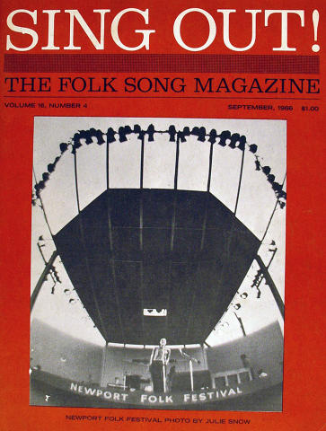 Sing Out, The Folk Song Magazine