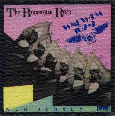 The Boomtown Rats Backstage Pass