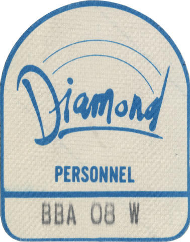 Diamond Backstage Pass