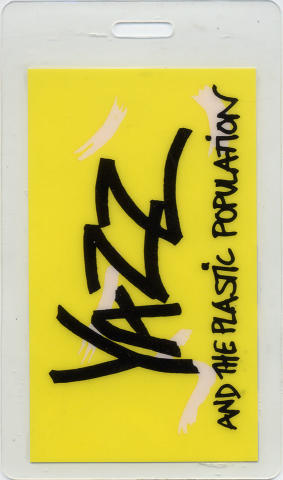 Yazz and the Plastic Population Laminate