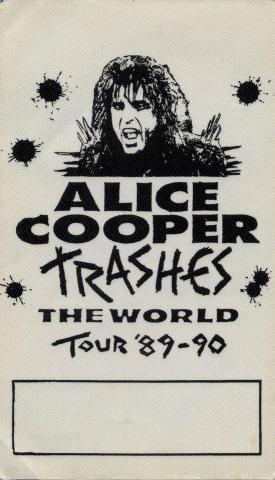 Alice Cooper Backstage Pass