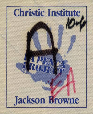Jackson Browne Backstage Pass