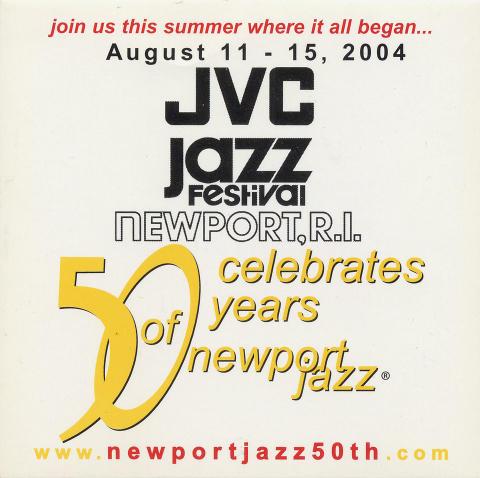 JVC Jazz Festival Celebrates 50 Years of Newport Jazz Backstage Pass