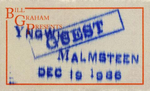 Yngwie J. Malmsteen Backstage Pass