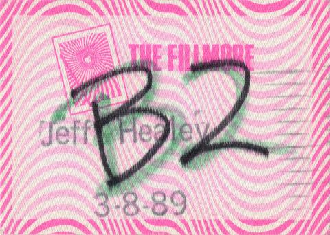 Jeff Henley Backstage Pass