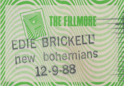 Edie Brickell Backstage Pass