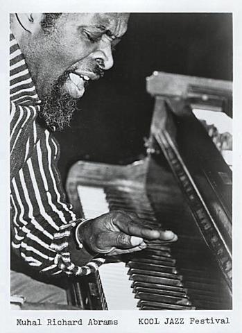 Muhal Richard Abrams, Kool Jazz Festival Promo Print