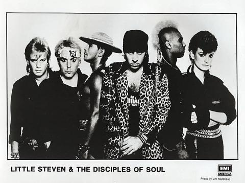 Little Steven & The Disciples Of Soul Promo Print