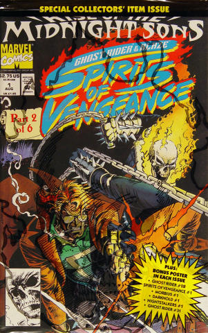 Rise Of The Midnight Sons: Ghost Rider & Blaze Spirits Of Vengeance
