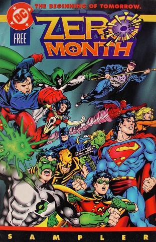 Zero Month: The Beginning Of Tomorrow Sampler