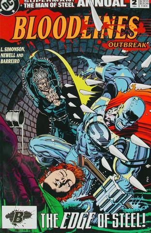 Superman: The Man of Steel, Bloodlines Outbreak