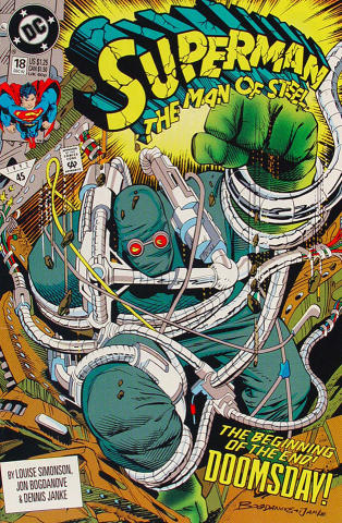 Superman: The Man of Steel, #18