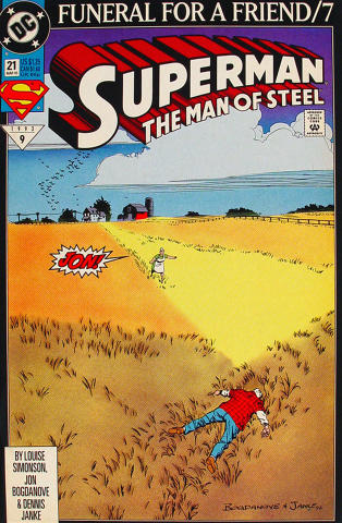 Superman: The Man of Steel, #21