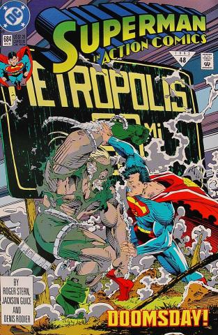 Superman in Action Comics #684