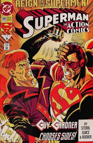 Superman in Action Comics #688