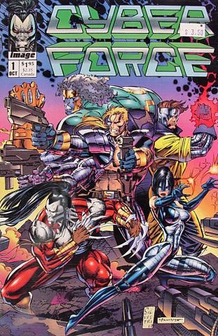 Image Comics: Cyberforce #1