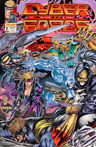 Image Comics: Cyberforce #2
