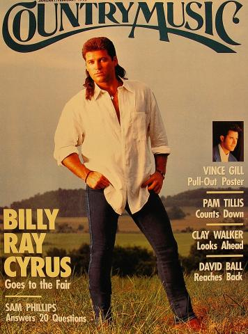 Country Music Magazine January 1995