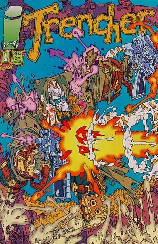 Image Comics: Trencher #1