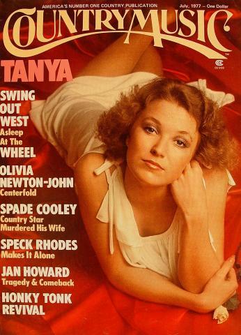 Country Music Magazine July 1977