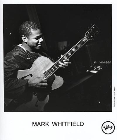 Mark Whitfield Promo Print