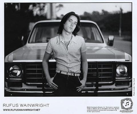 Rufus Wainwright Promo Print