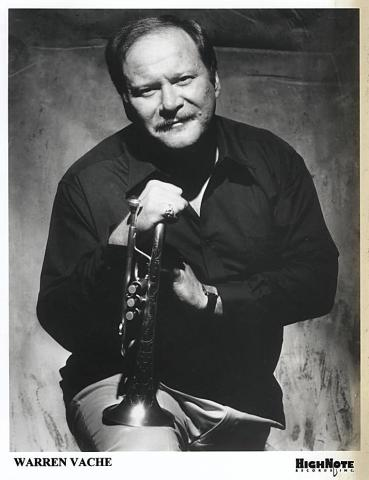 Warren Vache Jr. Promo Print