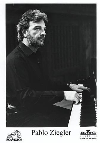 Pablo Ziegler Promo Print