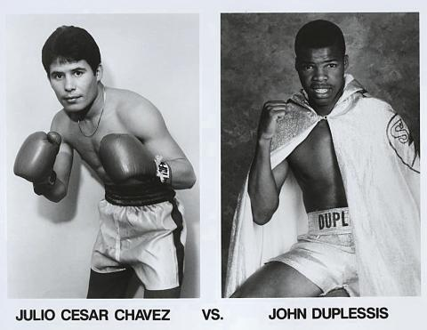 Julio Cesar Chavez Promo Print