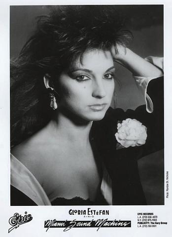Gloria Estefan & Miami Sound Machine Promo Print
