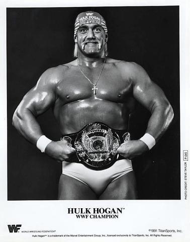 Hulk Hogan Promo Print