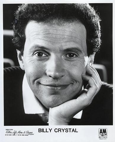 Billy Crystal Promo Print