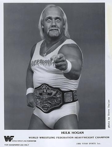 World Wrestling Federation Heavyweight Champion Promo Print