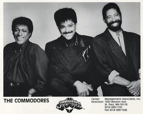 The Commodores Promo Print