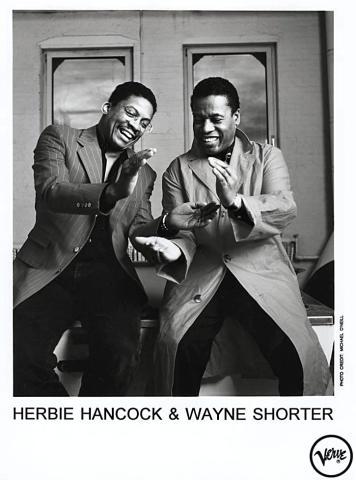 Herbie Hancock & Wayne Shorter Promo Print