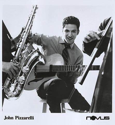 John Pizzarelli Promo Print