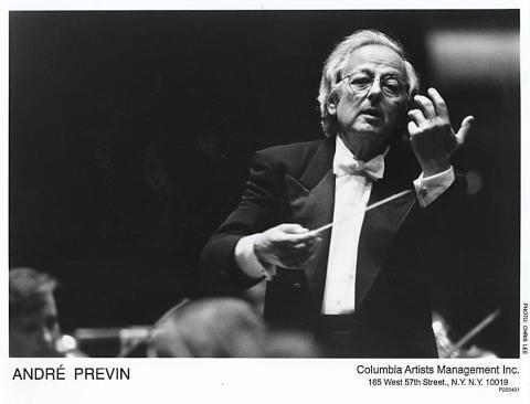 Andre Previn Promo Print